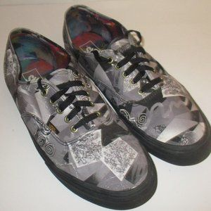 Mens Vans Pro Skate Low Top Shoes Sz 13 Gray Multi